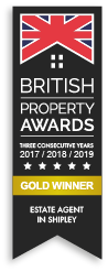award winning estate agent gold award